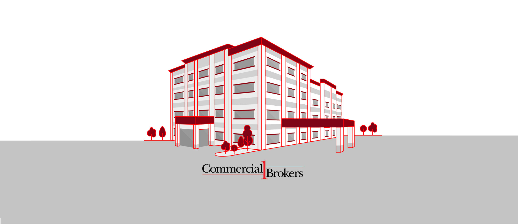 illustration of Commercial 1 Brokers Branson, Mo location